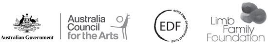 Australia Council For The Arts Exhibition Development Fund Limb Family Foundation