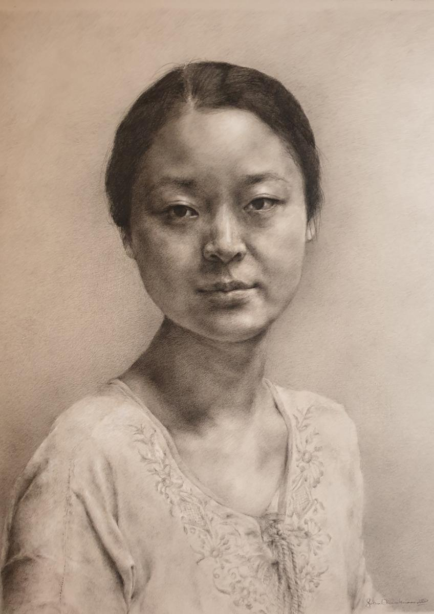 16 Okoronkwok Sarah Charcoal On Paper 30x40cm