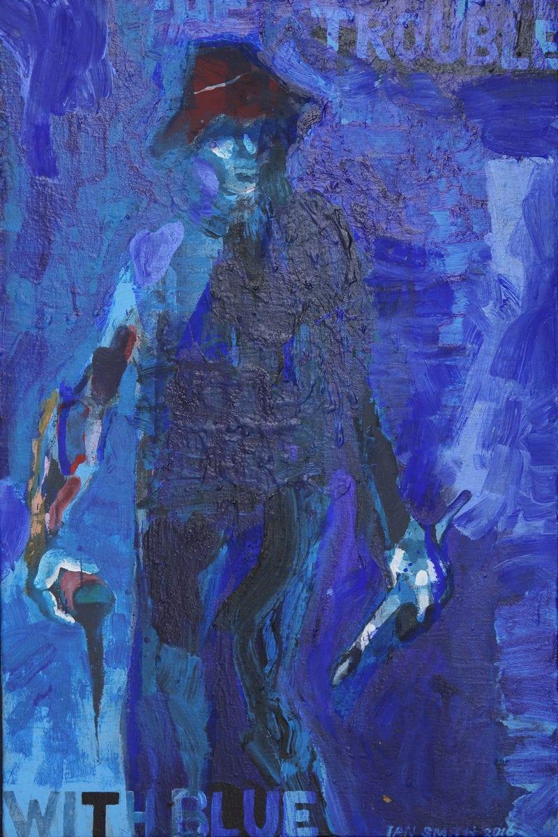 Ian Smith Blue 2016 60x40cm