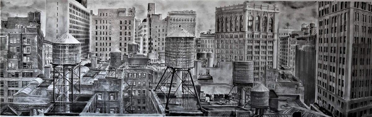 Miriam Innes, New York Rambling- Panel E