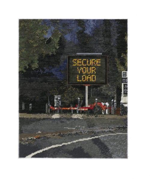 Michelle Hamer (2020) Secure Your Load, 66x51cm