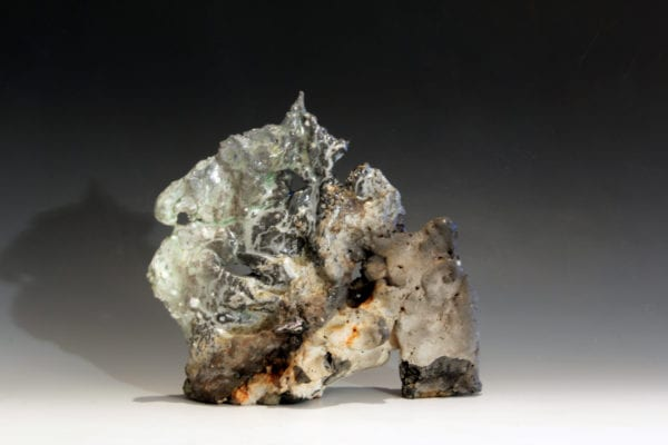 Sandy Lockwood Unearthed Series 21.5 X 20.5 X 8cm Woodfired Saltglazed Porcelain Img 3101
