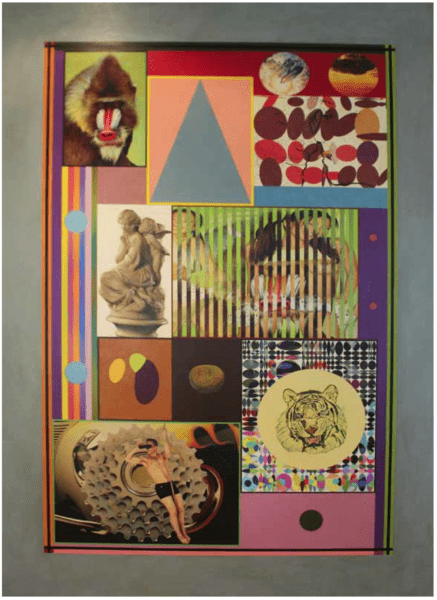 Peter Phillips Patch Various Things 2007to10 Oilacrylicmixedmediaoncanvas 140x200
